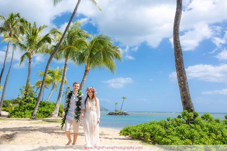 Simple Oahu Wedding Photography