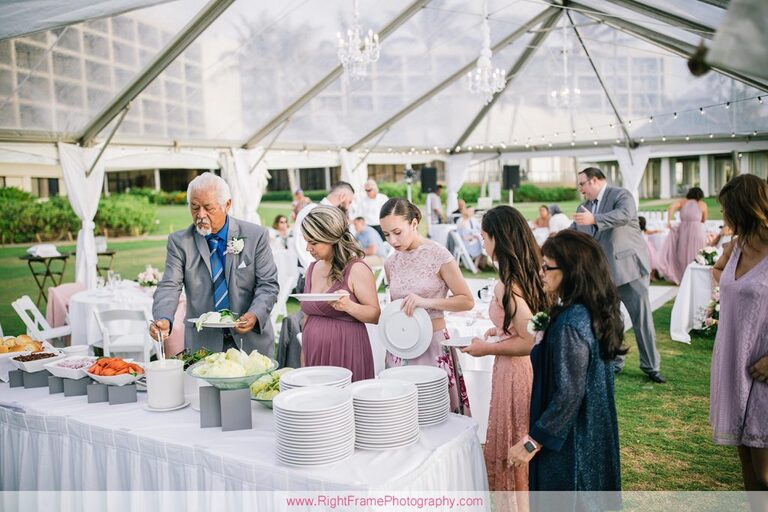 Turtle Bay Wedding Reception Photos Oahu Hawaii