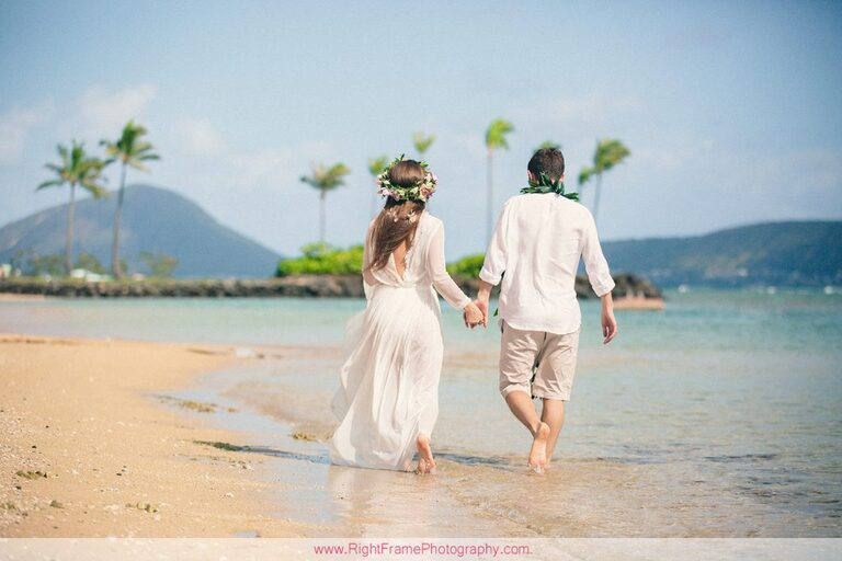 Simple Oahu Wedding Photography