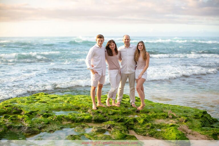 Oahu North Shore Family Portraits