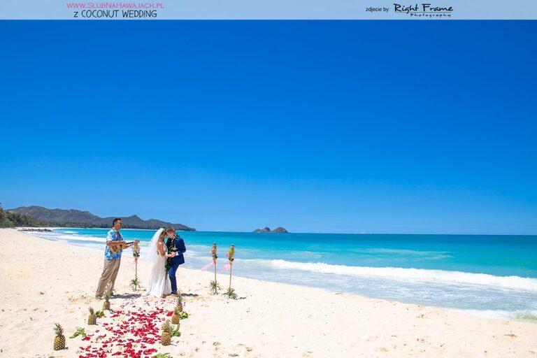 slub na hawajach slub za granica slub na plazy