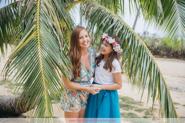 Oahu Family Photoshoot at Kahala Beach