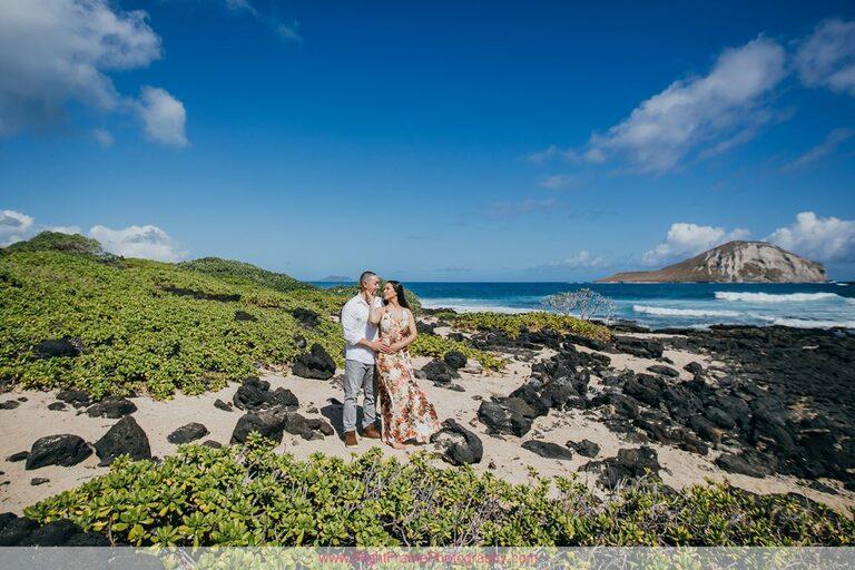 Hawaii Engagement Photoshoot at Makapu'u Beach