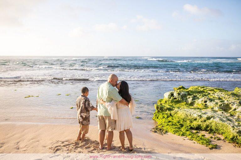 Hawaii Family Photoshoot Photos Pictures Photography Papailoa Beach North Shore