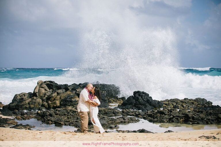 Hawaii Anniversary Photoshoot Photos Pictures Photography Makapuu Beach Park