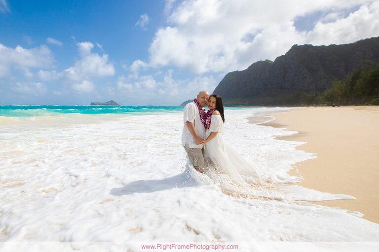 Hawaii Anniversary Photoshoot Photos Pictures Photography Waimanalo Beach