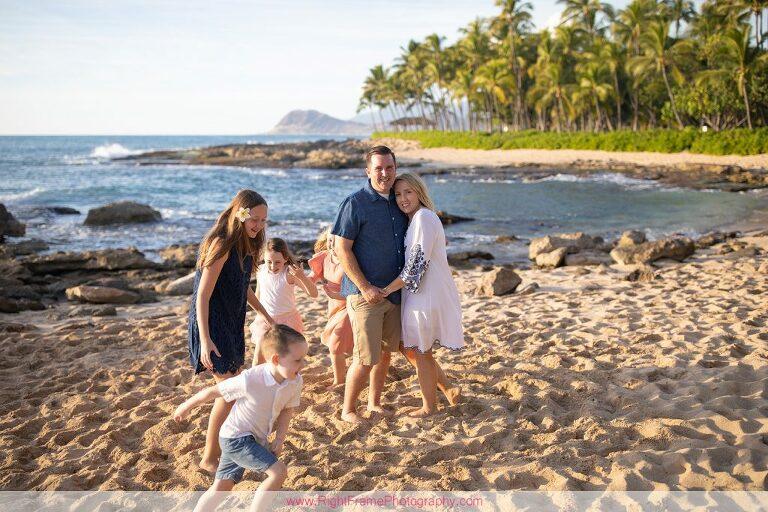 CHRISTMAS FAMILY PHOTOS IN HAWAII