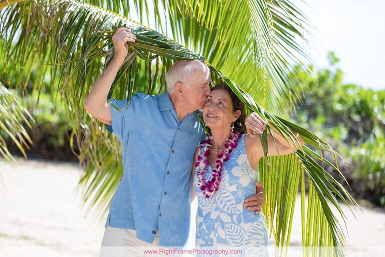 50th Wedding Anniversary Photography in Hawaii