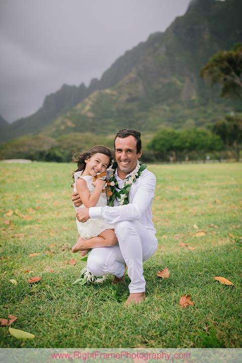 Kualoa Beach Park Family Photography Photographer Oahu Hawaii