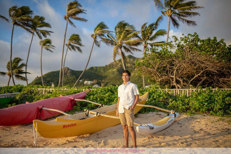 Senior Boy Portraits on Oahu