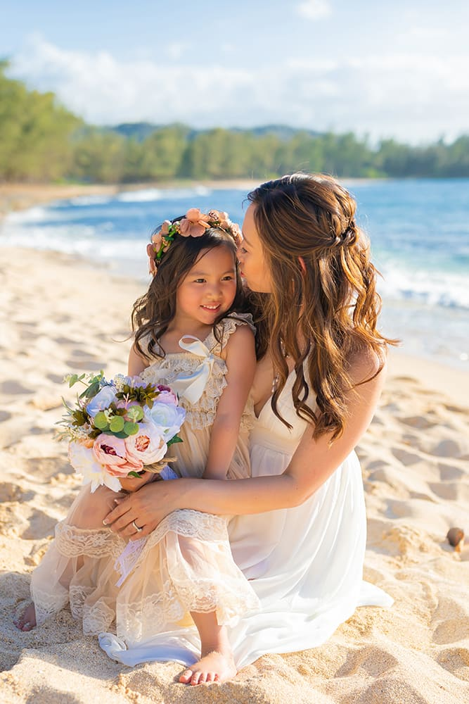 Beach Vow Reneval Photographer Hawaii Family Photographer North Shore Oahu