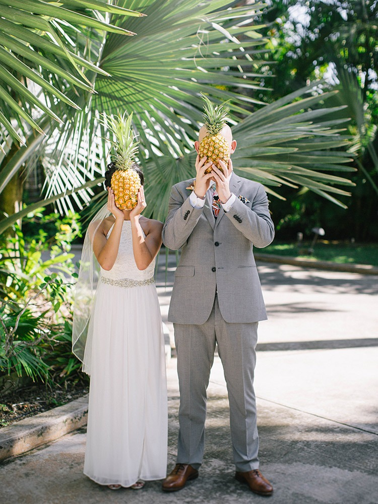 Private House Hale Koa Estate Wedding in Oahu Hawaii Photographer Laie Pineapple