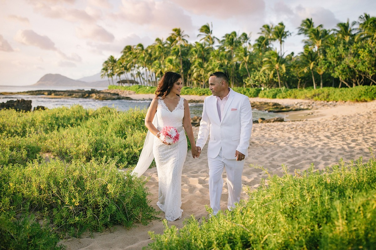 oahu vow renewal photography