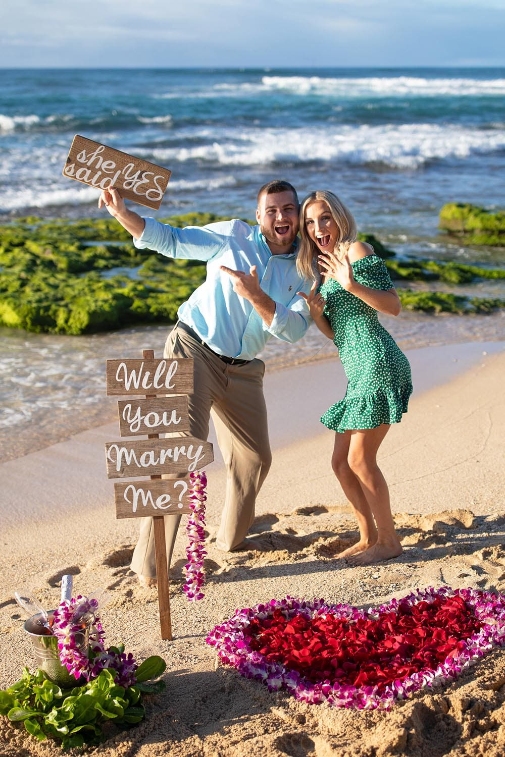 Hawaii Proposal Photographer